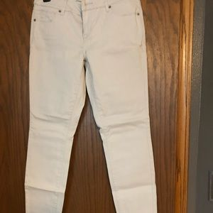The limited white jeans size 8 NWOT